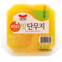 일가집 비타 맛 단무지 250g