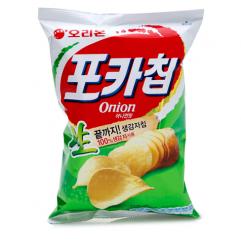 [오리온]포카칩 어니언맛 124g