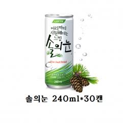 [롯데칠성]솔의눈 240ml*30캔