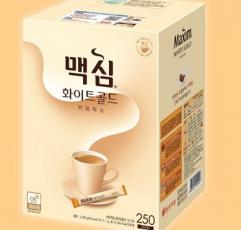 [맥심] 맥심 화이트골드 커피믹스 250T /커피/화이트골드