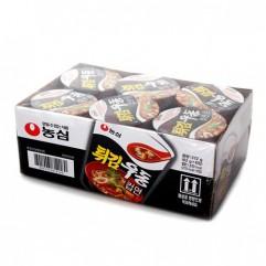 [농심] 튀김 우동 컵 (62g6입)